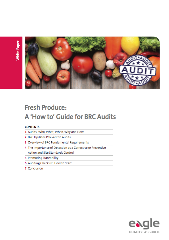 Fresh Produce: A 'How to' Guide for BRC Audits
