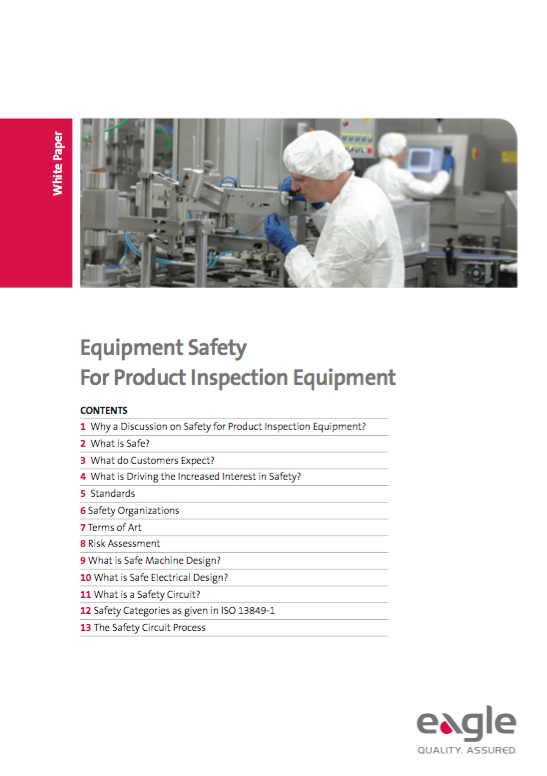Safety for Product Inspection Systems