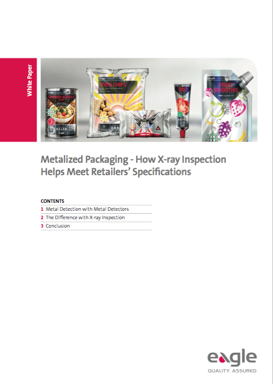 Metalized Packaging – How X-ray Inspection Helps Meet Retailers' Specifications
