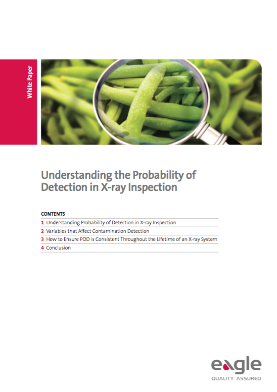 Understanding the Probability of Detection in X-ray Inspection of Food