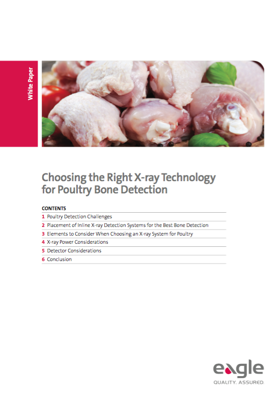 Choosing the Right X-ray Technology for Bone Detection in Poultry